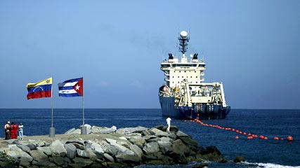 instalacione del cable Venezuela Cuba