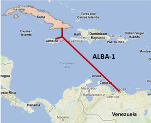cable Venezuela-Cuba