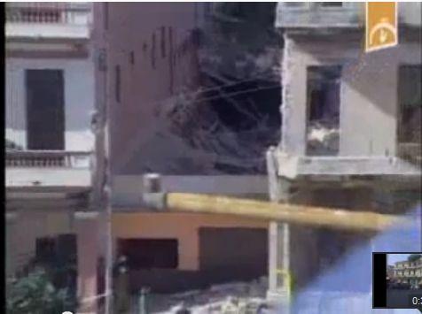 desplome de edificio en barrio capitlalino enero 2012