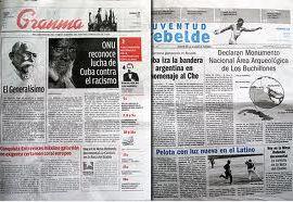 Dos periódicos cubanos