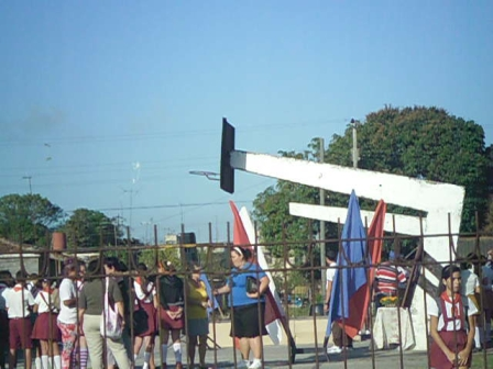 Acto de provocación realizado el 23 de febrero del 2013, 3er aniversario de la muerte de Orlando Zapata Tamayo, frente a la vivienda de Jorge Vázquez en Sagua la Grande.5