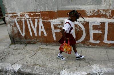 Cuba niños escolares