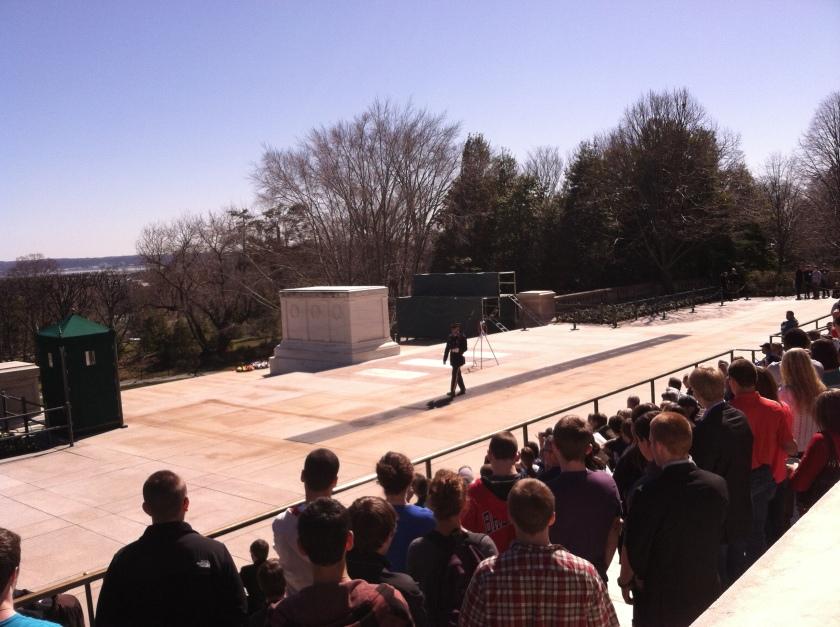Tumba al soldado desconocido Cementerio de Arlington EE.UU