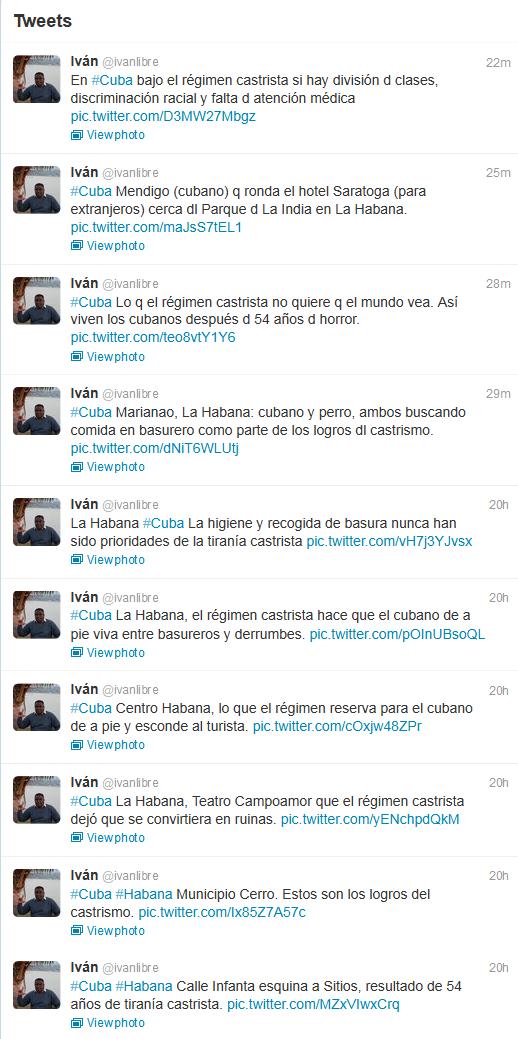 Narrando Cuba twit a twit