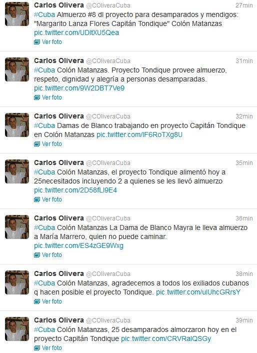 Desde Colón activistas divulgan otro sábado de ayuda pueblo a pueblo a través de twitter