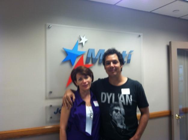 Camilo y Diana en Mari Noticias