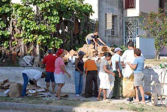 Imagen presentada por Perla Visión en Cienfuegos