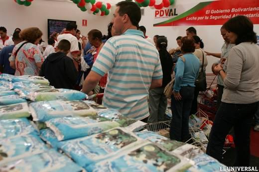 mercado venezolano (venta de leche en polvo)