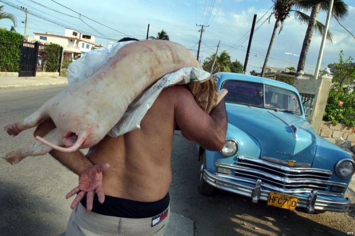 Vendedor ambulante Cuba