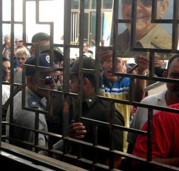 Acto de repudio en Camagüey