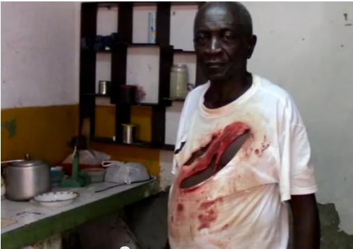 13 de octubre Miguel Fariñas Key (72 años de edad) herido   con un arma blanca