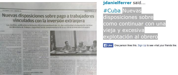 reporta cuba nuevas disposiciones Josedanielferrer