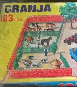 aja de juguetes en Cuba En este caso una granjita