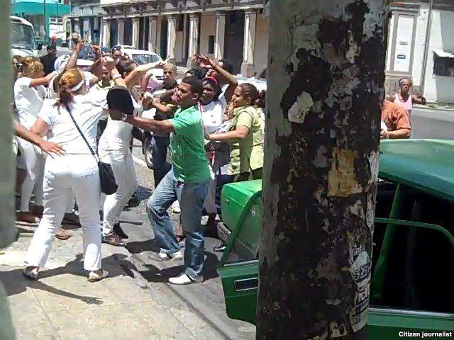 Habana detenciones a Damas de Blanco