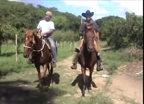 Campesinos en Cuba Tomado de You Tube