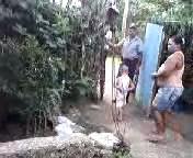 Oraisi Oduardo recibe los agentes en la portería