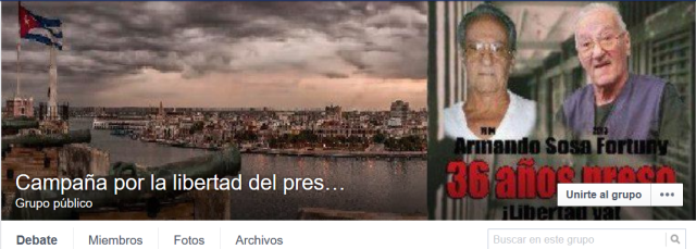 Por la libertad de Armando Sosa Fortuny