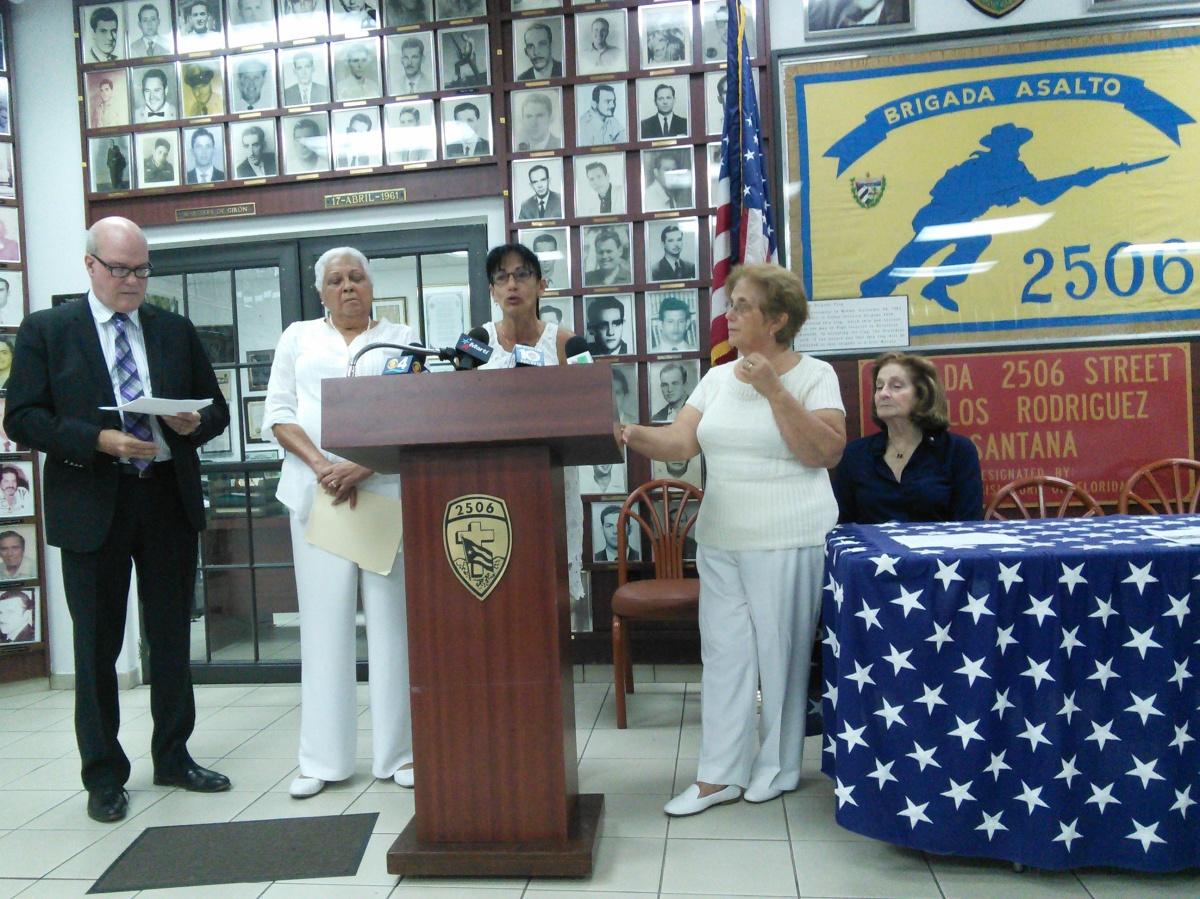 Organizaciones en el exilio unidas en un reclamo común: el cese de la represión enCuba