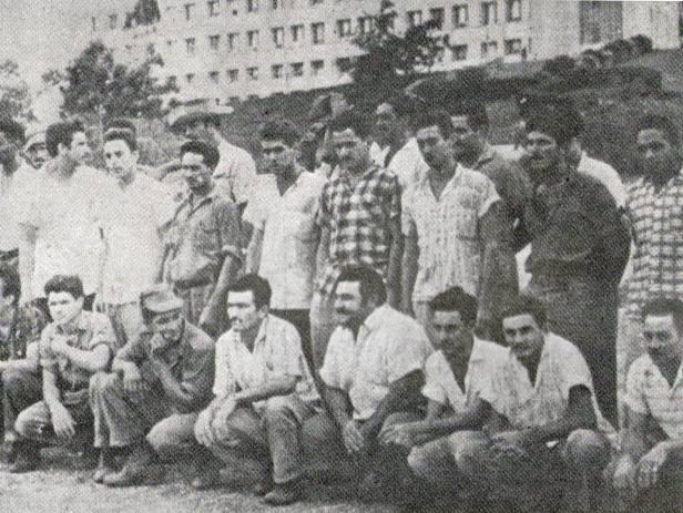 Raul Martinez ELHierro entre los detenidos