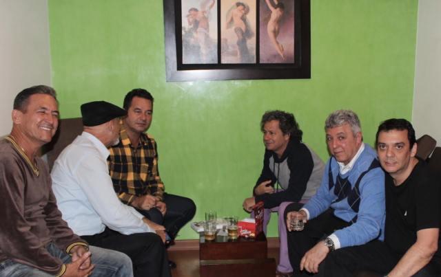 Angel Santiesteban en Bogotá/Tomado Facebook Armando Añel
