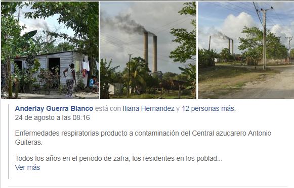 Cuba contaminación / Anderlay Guerra
