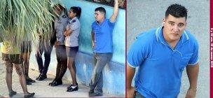 La vigilancia de militares (algunos con ropa civiil) en Lawton La Habana/Foto Angel Moya