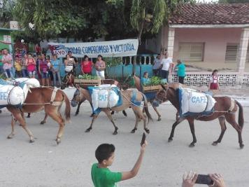 Desfile en Guinia de Miranda Abril 2019