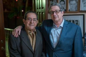 Enrique Ruano  y Pedro Corzo (der) /Foto Wences;ao Cruz