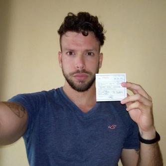 Yander Serra de su página de Facebook