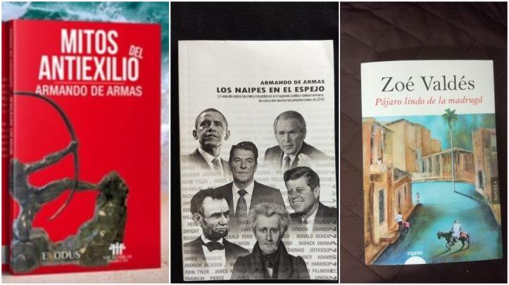tres libros cuba